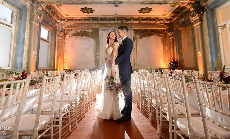 Emily and Pierre's Magical Fairy-Tale Wedding