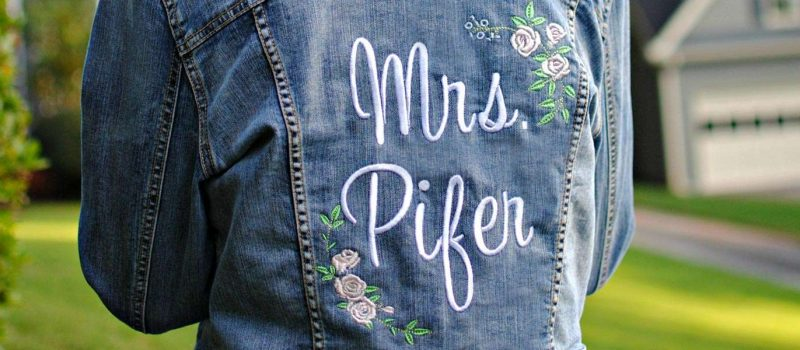 Making Your Own Personalized Wedding Jacket